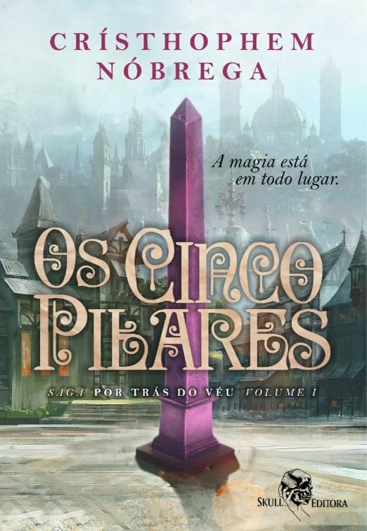 Capa de Livro: Os Cinco Pilares